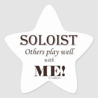 Soloist Others Play Well With Me Sticker