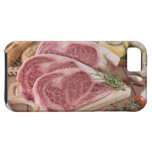 Solomillo de la carne de vaca funda para iPhone SE/5/5s