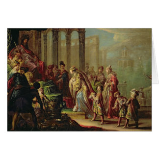 Solomon and the Queen of Sheba, or Esther before A Card