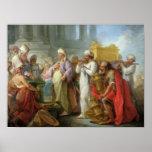 Solomon antes de la Arca de la Alianza, 1747 Posters