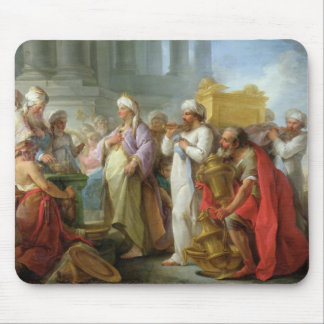 Solomon Before the Ark of the Covenant, 1747 Mouse Pad
