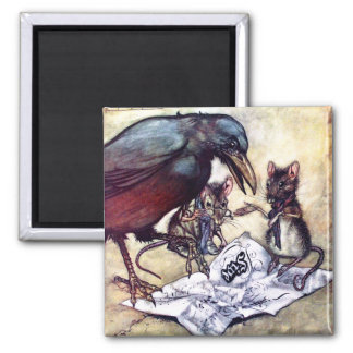 Solomon Caw and Assistants 2 Inch Square Magnet