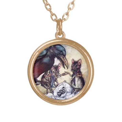 Solomon Caw and Assistants Round Pendant Necklace