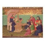 Solomon dicta los proverbios tarjetas postales