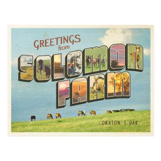 Solomon Farm Postcard