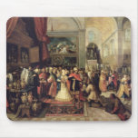 Solomon in the Treasury of the Temple, 1633 Mouse Pad