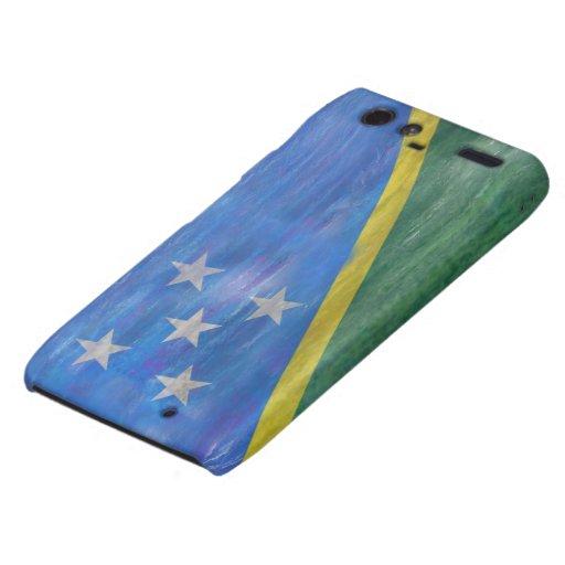Solomon Island apenaron la bandera Droid RAZR Fundas