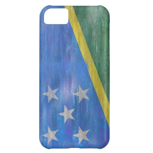 Solomon Island apenaron la bandera Funda Para iPhone 5C