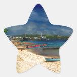 Solomon Island Calcomanía Forma De Estrella