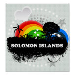 Solomon Island con sabor a fruta lindos Poster