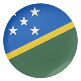 Solomon Islander Flag Dinner Plate