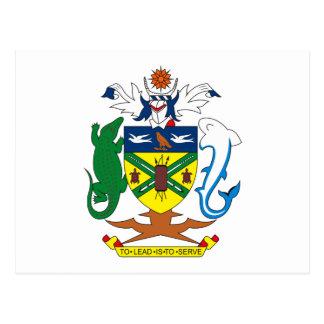 Solomon Islands Coat of Arms Postcard