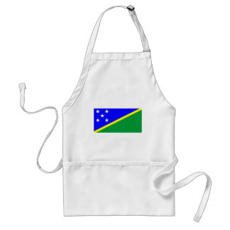 Solomon Islands flag Apron