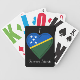 Solomon Islands flag Bicycle Playing Cards
