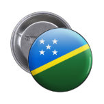 Solomon Islands Flag Button