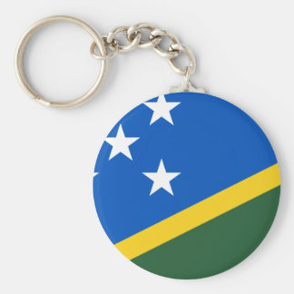 Solomon Islands Flag Keychain