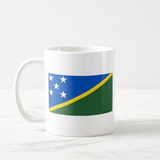 Solomon Islands Flag ~ Map Mug