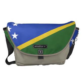 Solomon Islands flag Messenger Bag