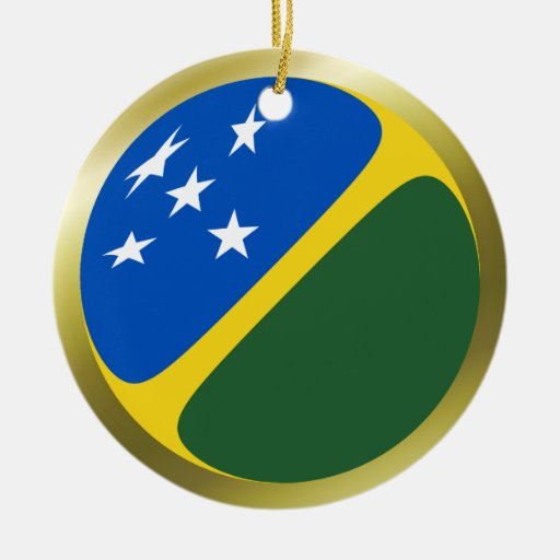 Solomon Islands Flag Ornament