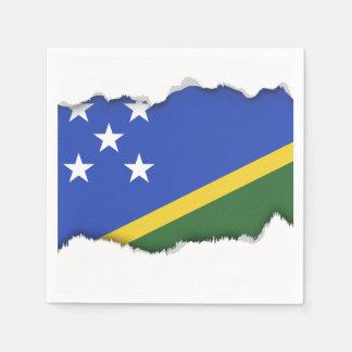 Solomon Islands flag Paper Napkin