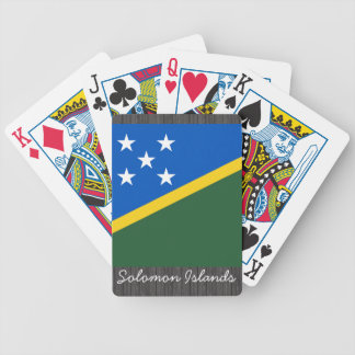 Solomon Islands Flag Playing Cards
