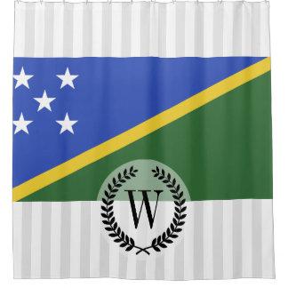 Solomon Islands flag Shower Curtain