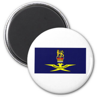 Solomon Islands Governor General Flag 2 Inch Round Magnet