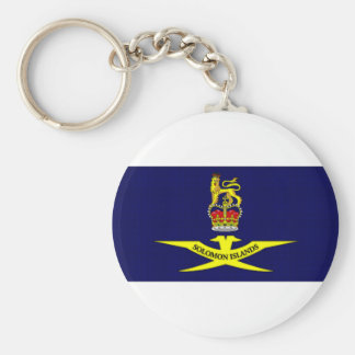 Solomon Islands Governor General Flag Keychain