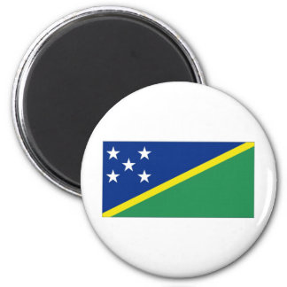 Solomon Islands National Flag 2 Inch Round Magnet