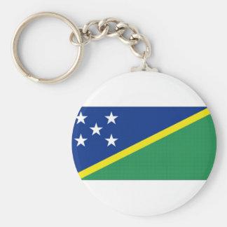 Solomon Islands National Flag Keychain