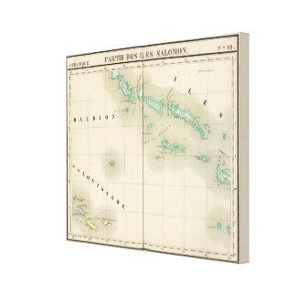 Solomon Islands Oceania no 32 Gallery Wrapped Canvas