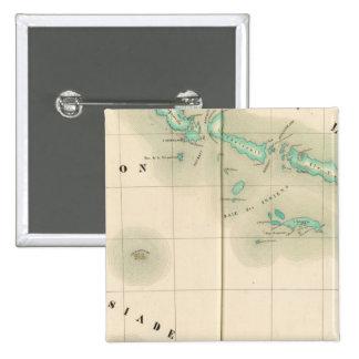 Solomon Islands Oceania no 32 Pinback Button