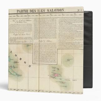 Solomon Islands Oceania no 33 3 Ring Binder