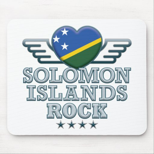 Solomon Islands Rock v2 Mouse Mats