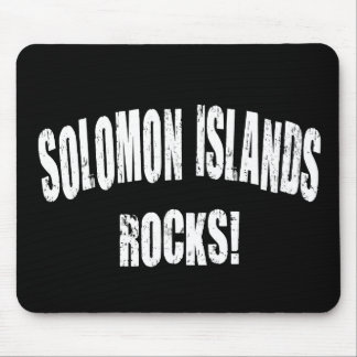 Solomon Islands Rocks! Mouse Pad