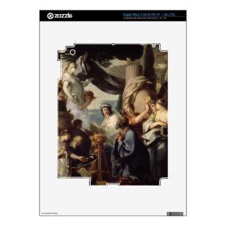 Solomon making a sacrifice to the idols iPad 3 decals