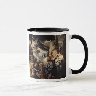 Solomon making a sacrifice to the idols mug