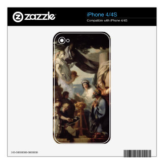 Solomon making a sacrifice to the idols skins for iPhone 4S