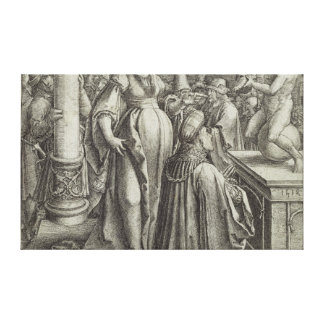Solomon Prays in front of a Graven Image c 1514 Stretched Canvas Print