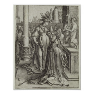 Solomon Prays in front of a Graven Image, c.1514 Poster