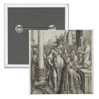 Solomon ruega delante de una imagen grabada, c.151 pins