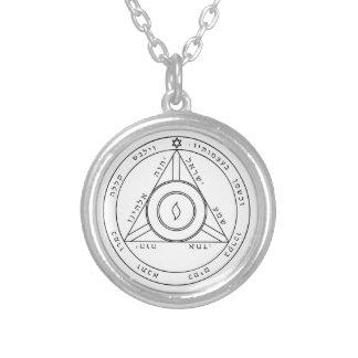 Solomon s Pentacle of Saturn Pendant