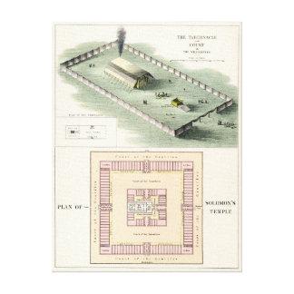 Solomon s Temple Stretched Canvas Print