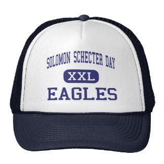Solomon Schecter Day Eagles New Milford Trucker Hats