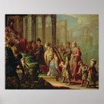 Solomon y la reina de Sheba, o Esther antes de A Poster