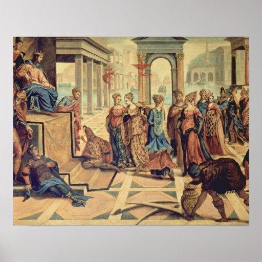 Solomon y la reina de Sheba Póster