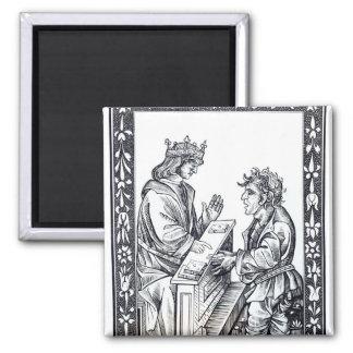 Solomon y Marcoul ejemplo de Imán De Frigorifico