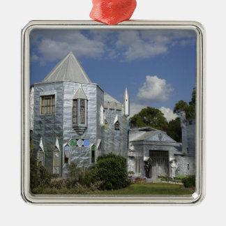 Solomon's Castle Metal Ornament