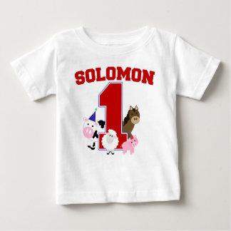 Solomon's First B-day Shirt