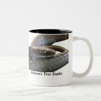 Solomon's Tree Snake Two-Tone Mug